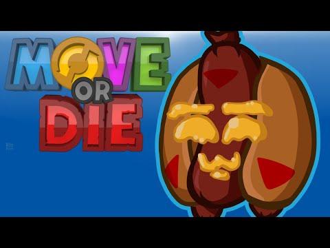 Move Or Die! - DON'T TOUCH MY HOTDOG! (Cartoonz Vs Ohm Vs Squirrel Vs Delirious) (видео)