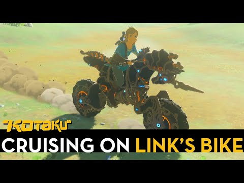 Riding A Motorcycle In Breath Of The Wild Is As Rad As It Sounds