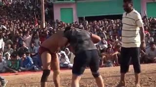 Poonam Pahalwan Female Haryana Ne Jammu Ke Pahalwan Male Ko Haarya Ramkote Dangal Mein