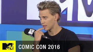 Austin Butler Chats Season 2 of The Shannara Chronicles | Comic Con 2016 | MTV