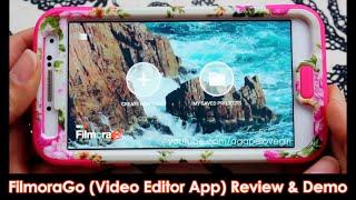 #FilmoraGo Video Editor App Review & Demo