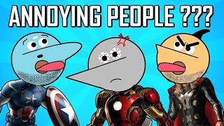 The Chootiengers : Annoying People In Life | Angry Prash