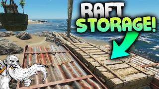 """Stranded Deep Gameplay - """"CUSTOM RAFT STORAGE!!!""""  - Let"""