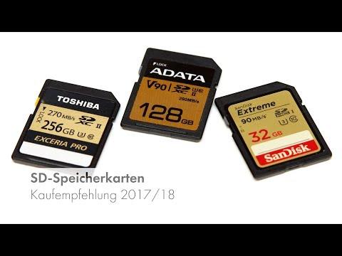 SDHC/SDXC-Speicherkarten | Test & Kaufempfehlung 2017