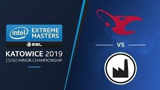 CS:GO - mousesports vs. Valiance [Mirage] - Group A Match 1 - IEM Katowice EU Minor 2019