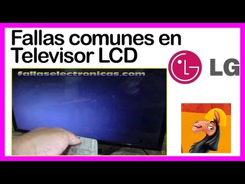Fallas comunes en Televisor LCD LG