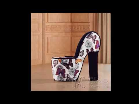 High Heel Shoe Chair - Animal Print High Heel Shoe Chair   Best Design Picture Ideas for