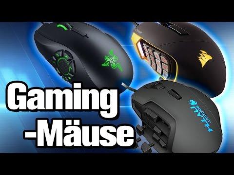 Die besten Gaming-Mäuse im Test (2017) | #Gaming-PC