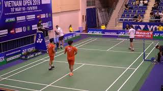 Nice Angle - NA Sung Seung/WANG Chan (Kor) vs Mark LAMSFUSS/Marvin SEIDEL | Vietnam Open 2019