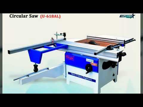 Circular Saw With Outrigger Table and Aluminum Sliding Table