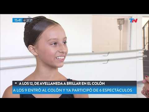 Tiene 12 años, pasó de Avellaneda a brillar en el Colón