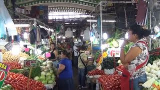 preview picture of video '(3D) Mercado Central Cuernavaca Mexico (Central Market) Full HD 1080i'