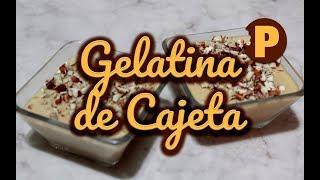 Gelatina de Cajeta