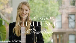 The Entertaining at Home Fashion Challenge with Maya Stepper | NET-A-PORTER