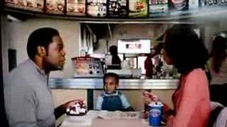 Dairy Queen Commercial, Baby and Parents