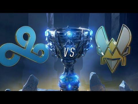 C9 vs VIT | Worlds Group Stage Day 5 | Cloud9 vs Team Vitality (2018)