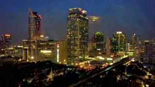 Bangkok view from a drone Mavic.
