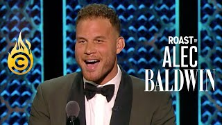 Blake Griffin Burns Adam Carolla & Celebrates Caitlyn Jenner (Full Set) - Roast of Alec Baldwin