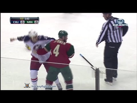 Clayton Stoner vs. Jared Boll