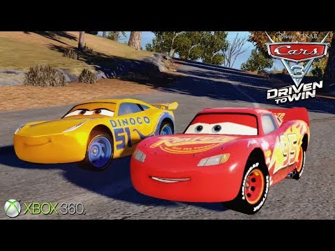 Cars 3 Driven To Win - Xbox 360 / Ps3 Gameplay (2017)
