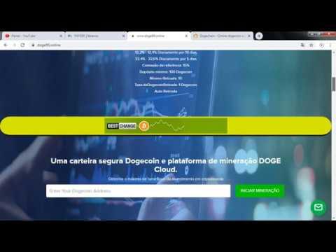 NOVA MINERADORA DE DOGECOIN | DOGE99 | PROVA DE PAGAMENTO