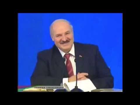 Лукашенко рассказывает анекдот про себя