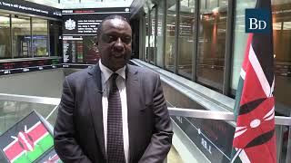 CS Henry Rotich opens London Stock Exchange