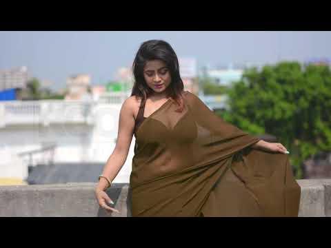 SareeShoot    Bengal Beauty    Brown Saree    Trisha    S01 E01
