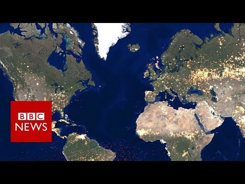 maps reveal hidden truths of the world's cities bbc news