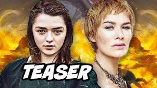 Game Of Thrones Season 8 Arya Stark Finale Teaser Explained