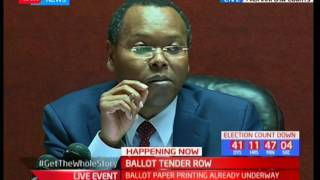 Ballot Tender Row : High Court hearing of the tender case ongoing