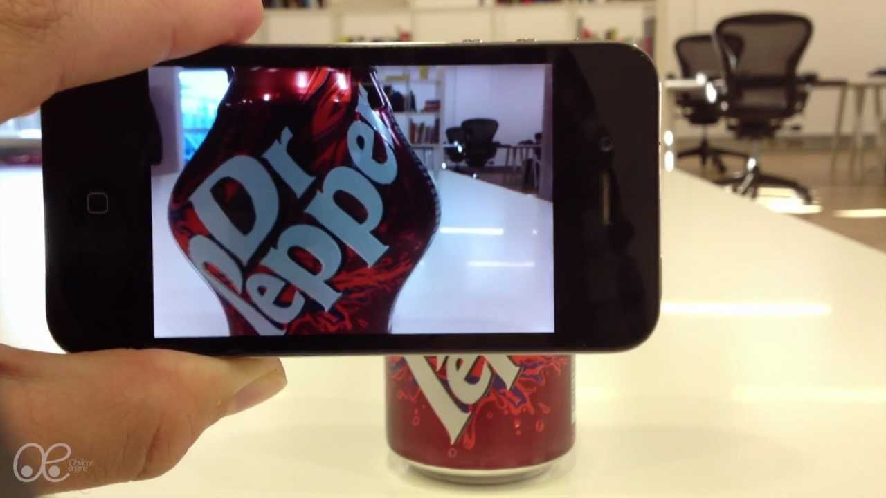 Slick Augmented Reality Demo Works On Any Object Without Special Markers