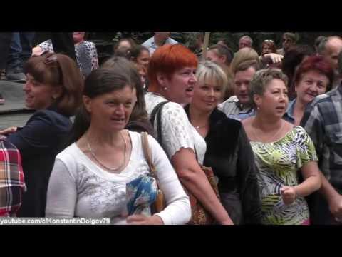 В ДНР прошел зомби парад по противодействию вооруженной миссии в Донбассе