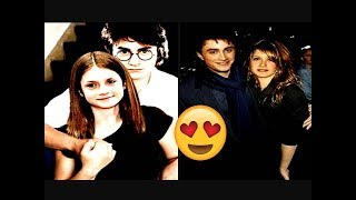 Daniel Radcliffe And Bonnie Wright Lovely Moments   Best Photos