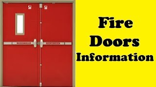 Fire Doors Information