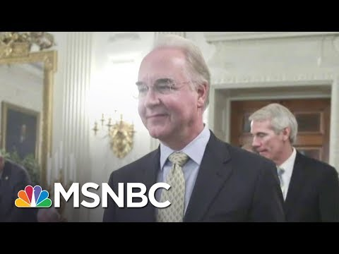 Tom Price's Private Flights Cost Taxpayers Over $1 Million | All In | MSNBC