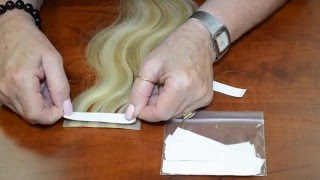 How To Remove and Replace Tape In Hair Extensions