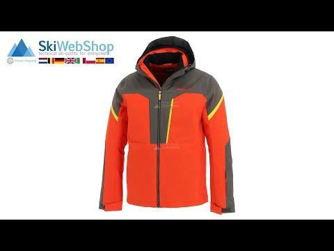 Ziener Truckee orange | Ski jacket men | SkiWebShop