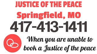 Justice Of The Peace Springfield MO | 417-879-4079