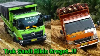 Palm truck makes greasy .. !!!