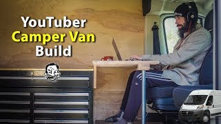 Building a Camper Van for Alex to Live in