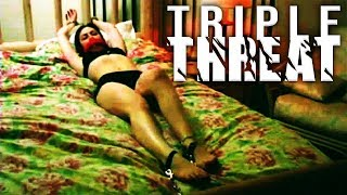 Triple Threat (Action Feature Film English Full Length) Free Crime Adventure Movie Online