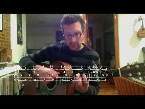 I teach Green, Green Rocky Road by Dave Van Ronk.