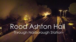 preview picture of video 'Rood Ashton Hall Through Narborough Station'