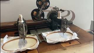 Jacquard Embroidery Machine: Masterpiece from history