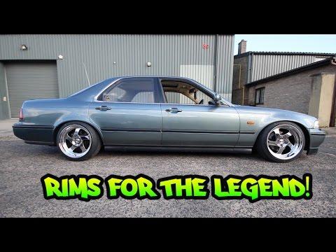 THE LEGEND GETS NEW WHEELS !! Honda Legend / Honda Diaries