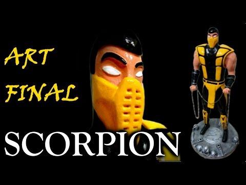 Miniatura do SCORPION Mortal Kombat - Arte Final