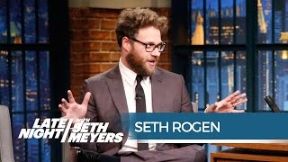 Seth Rogen's Amazing Kanye West Encounter - Late Night with Seth Meyers