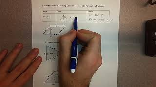 High School Math - Geometry Lesson 1