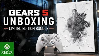 Unboxing Xbox One X Collector's Edition
